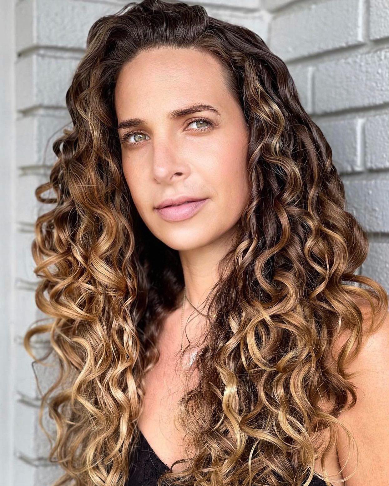 Perfect curls happen with the understanding of water